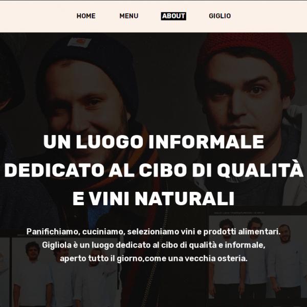 Website design | Gigliola Lucca