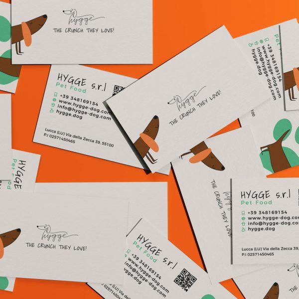 Elaborazione Grafica | Business Cards Hygge