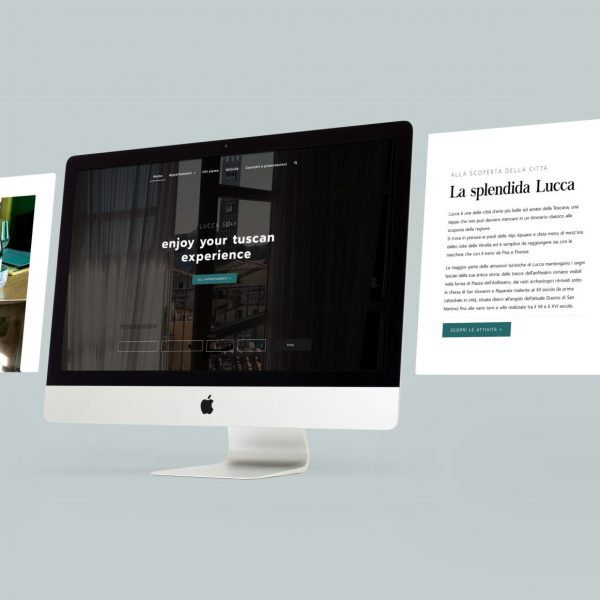 Web Design_Lucca Stay