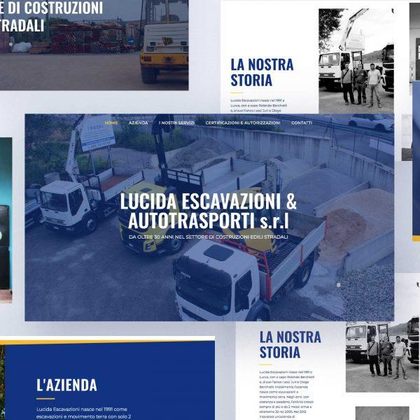 Web Design | Lucida Escavazioni Autotrasporti