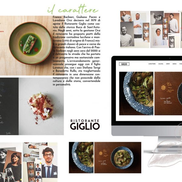 Website Design | Ristorante il Giglio